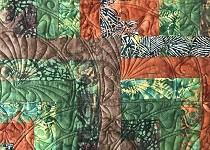 'Nasturtiums in the Garden'